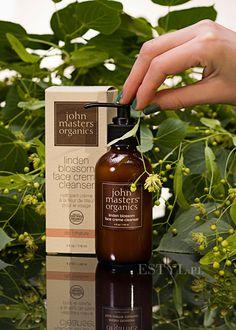 Żel do mycia twarzy #JohnMasters Organics Linden Blossom Face Creme Cleanser w recenzji Małgosi na blogu Estyl.pl