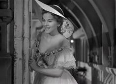 Rebecca (1940) directed by Alfred Hitchcock and starring Joan Fontaine