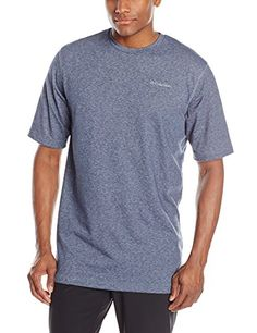 Columbia Mens Tall Thistletown Park Crew, Nocturnal Heather, 3X/Tall