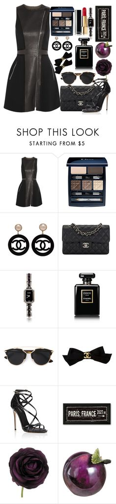"""#235"" by londero-danielle ❤ liked on Polyvore featuring rag & bone, Christian Dior, Chanel and Dolce&Gabbana"