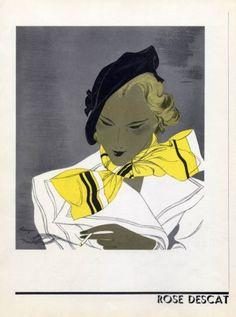 Rose Descat (Millinery) 1934 Benigni