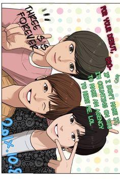 True Beauty Webtoon Suho, Lore Olympus, Anime Couples Drawings, Webtoon Comics, Handsome Anime Guys, Line Friends, True Beauty, Beauty Secrets, Manhwa