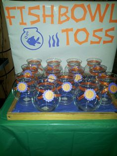 We can get vases from dollar store and ping pong balls!