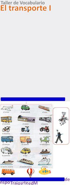 Medios de Transporte (means of transport)