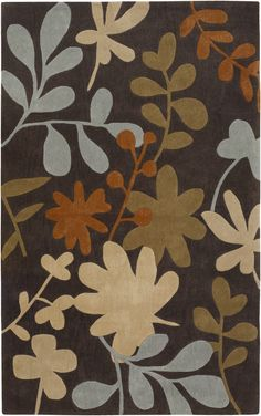 This area #rug is available in many shapes, sizes, and colors. Made by #Surya.