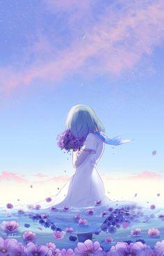 anemone by lluluchwan.deviantart.com on @DeviantArt