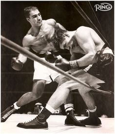 Rocky Marciano - amazing! The question is will mayweather break his record???