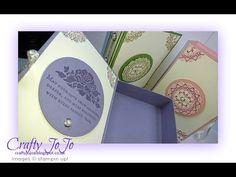 Wedding Keepsake Book Box - Tutorial - - YouTube