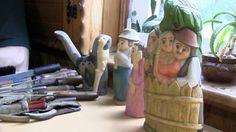 Die Holzschnitzer von Kutno - http://www.galeriedels.de