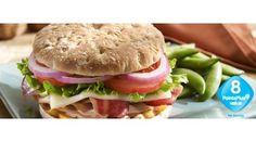 Sandwich Thins' Turkey Club - Weight Watchers PointsPlus® Value: 8