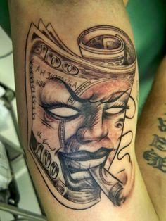 Tattoo: Ain't No Money Like Dope Money!