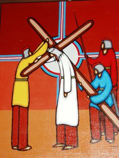 Image result for leland bell stations of the cross art canada