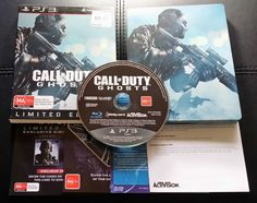 Call of Duty GHOST Limited Edition Sony PlayStation 3 - PS3 - FREE Postage