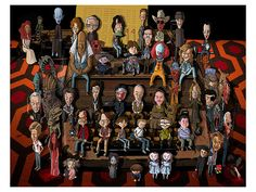 Even More Cool Art from the Stephen King Art Show - The Shining, Gunslinger and More — GeekTyrant Stephen King It, Steven King, Castle Rock, Arte Horror, Horror Art, Horror Cartoon, Funny Horror, Scary Movies, Horror Movies