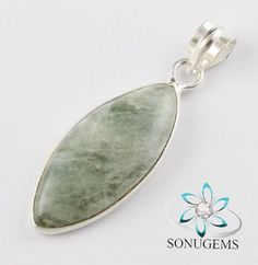 925 Sterling Silver Natural Aventurine Cabochon by SONUGEMS
