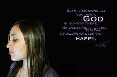 No importa lo que pases, Dios siempre esta ahí para ti.