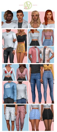 is creating Custom Content for The Sims 4 Sims Four, Sims 4 Mm Cc, My Sims, Sims 4 Tsr, Maxis, Sims 4 Mods Clothes, Sims 4 Clothing, Lili Marleen, Los Sims 4 Mods