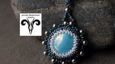 Learn to Bezel a pendant for any size cabochon tutorial
