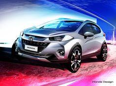 Honda WR-V: inédito SUV compacto fará estreia global no Salão do Automóvel de São Paulo!  O novo WR-V complementa a família de utilitários esportivos da Honda formada por HR-V e CR-V. O SUV compacto foi desenvolvido pelo time de Pesquisa e Desenvolvimento da Honda no Brasil baseado em pesquisas das demandas dos consumidores regionais. A Honda pretende ampliar o mercado com esse SUV compacto.  O veículo tem design externo robusto e resistente de um SUV adaptado aos gostos regionais. O WR-V…