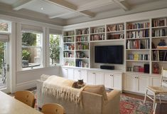 Built In Entertainment Center With White Design, Pictures, Remodel, Decor and Ideas - page 5