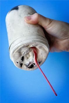 No freakin way... Dangerous.... EXACT recipe for DQ Blizzards at home!