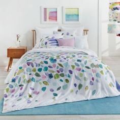 bluebellgray Mosaic Duvet Cover Sets Home - Bed & Bath - Bedding - Bloomingdale's King Comforter Sets, Duvet Sets, Duvet Cover Sets, Green Comforter, King Duvet, Queen Duvet, Bright Bedding, Bed Sets For Sale, Bluebellgray