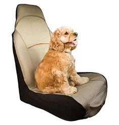 Kurgo CoPilot Car Seat Cover for Bucket Seats, Hampton Sand