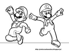 Myndaniurstaa Fyrir Minecraft Coloring Pages See More Super Mario Colorir Pintar Desenhar1 512x386