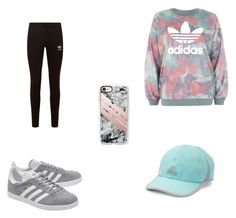 """""""Casual Winter Workout"""" by danisag ❤ liked on Polyvore featuring adidas Originals, adidas and Casetify"""