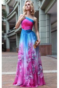 Paris Floor Length Off-the-shoulder applique Satin A-line Evening Dress p-sl603
