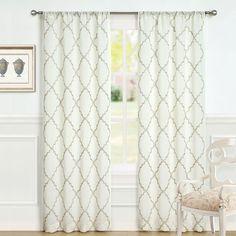 Laura Ashley Lifestyles Windsor 2-pk. Curtains