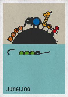 #JUNGLA #CARTON #JUEGOS #INFANTIL - Cartel para mecenas de JUNGLING by MILIMBO - Juanjo Oller. Hemos creado nuestra propia Jungla de cartón. Una tropa de fieros animales que buscan compañeros de juego. Animales geométricos, casi matemáticos pero sobretodo éticos y muy naturales. Puedes jugar montando tu propia selva, con este kit de animales, árboles, plantas y una selvática cabaña.   CONSÍGUELO: www.etsy.com/listing/106737707/kit-jungling  CAMPAÑA verkami: www.verkami.com/projects/1592