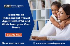 Start your travel agency business without any prior experience, you can become an Independent Travel Agent with STA and work from your own home. http://www.starttravelagency.in/