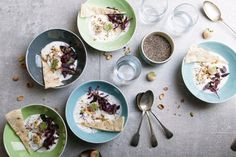 10 non-pudding chia seed recipes Healthy Dessert Recipes, Smoothie Recipes, Healthy Snacks, Clean Eating Tips, Clean Eating For Beginners, Whole 30 Recipes, Sweet Recipes, Healthy Cooking, Healthy Eating