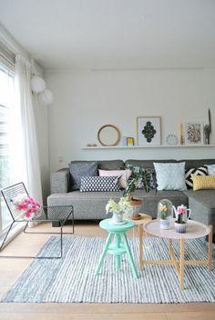 Nouvelles tendances de Living Colors idées de décoration vivant