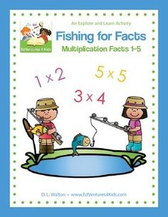 3rd Grade Common Core Math, Multiplication, Multiplication Facts, 3rd Grade Math The highly rated and popular Fishing for Facts: Multiplication Facts 1-5 has a new look. It has also been updated to align better with 3rd grade Common Core math. On the hunt for ways to make Common Core Math fun while still teaching key skills?