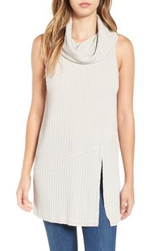 ASTR Sleeveless Cowl Neck Tunic available at #Nordstrom