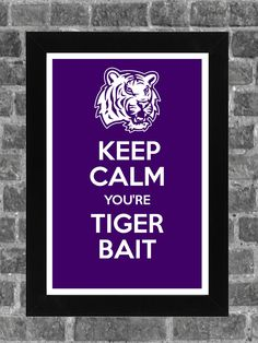 Keep Calm LSU Print