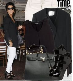 """942. Celebrity Style: Kris Jenner"" by nastyaafanasova ❤ liked on Polyvore"