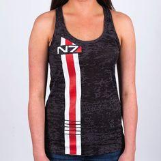 Feminine Mass Effect shirts