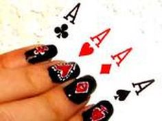 Do You Want Nails Like Lady Gaga In The Poker Face Music Video? – Click the video and se how it is done!
