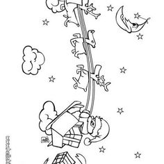 Disney Christmas 9 Coloring Page For Kids And Adults From Cartoons Pages