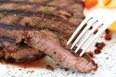 Zesty Flank Steak #healthy #recipe