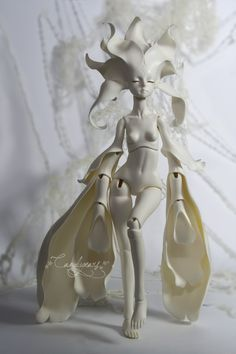 One of the most stunning and innovative BJD designs in years. Dollzone Anson.