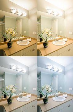 Best Color Temperature For Bathroom Mirror