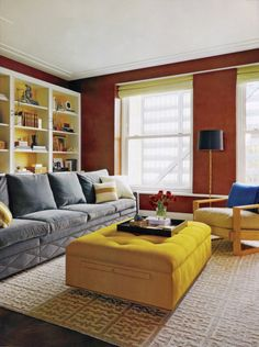 Nate Berkus Interiors | Michigan Avenue Apartment | Chicago Home + Garden  Family Room Walls,