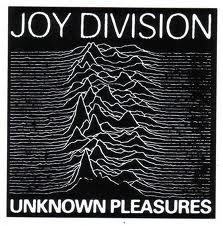 joy division album cover, landscape, ridges, mountain range
