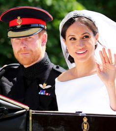 Here we take a close look at Meghan Markle's hair and makeup look. Wedding day beauty inspiration, this way.