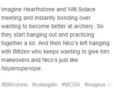 But then, Nico starts to get into it...
