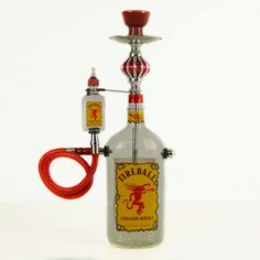 Hey, I found this really awesome Etsy listing at https://www.etsy.com/listing/207565384/fireball-whiskey-liquor-bottle-hookah